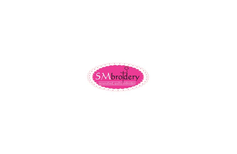 SM Embroidery Logo